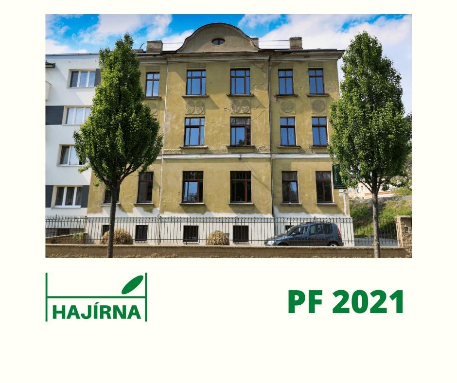 PF 2021 Ubytování Hajírna Opava